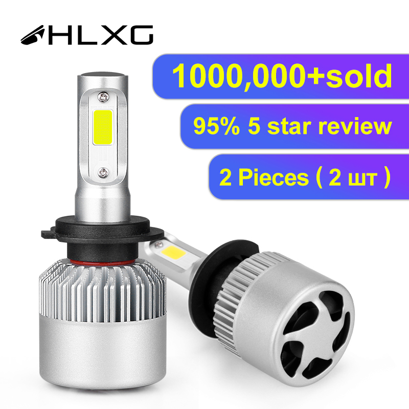 Hlxg Car-Headlight-Bulbs Car-Accessories Fog-Light HB4 8000k Led Auto 9005 Hb3 6500K title=
