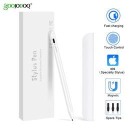 GOOJODOQ Touch Pen Stylus For apple pencil 2 1 for iPad 9.7 2018 Pro 11 12.9 2018 Air 3 10.5 2019 10.2 Mini 5 Tablet Stylus Pen