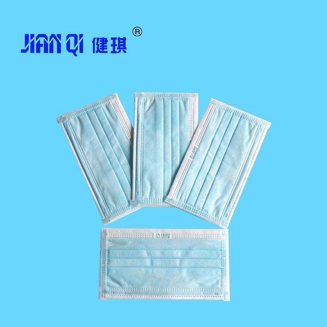 20Pcs/bag 3 Layers Meltblown Mouth Mask Non-wove 3 Layer Disposable Mask Medical Surgical Mask Anti infection Flu Anti Infection 3