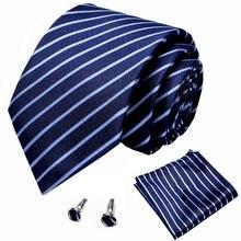 Заводской классический мужской набор платок галстук из 100%