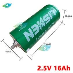 6PCS LTO 2.5V 16Ah 18Ah battery Original Grade A 2.3v 2.4V Lithium Titanate cell diy 12v 24v 48v solar battery motor homes
