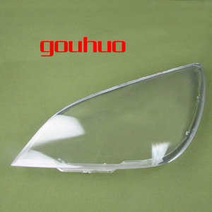Image 2 - Para mitsubishi lancer 2007 2008 2009 2010 2011 farol escudo capa abajur transparente lente de vidro