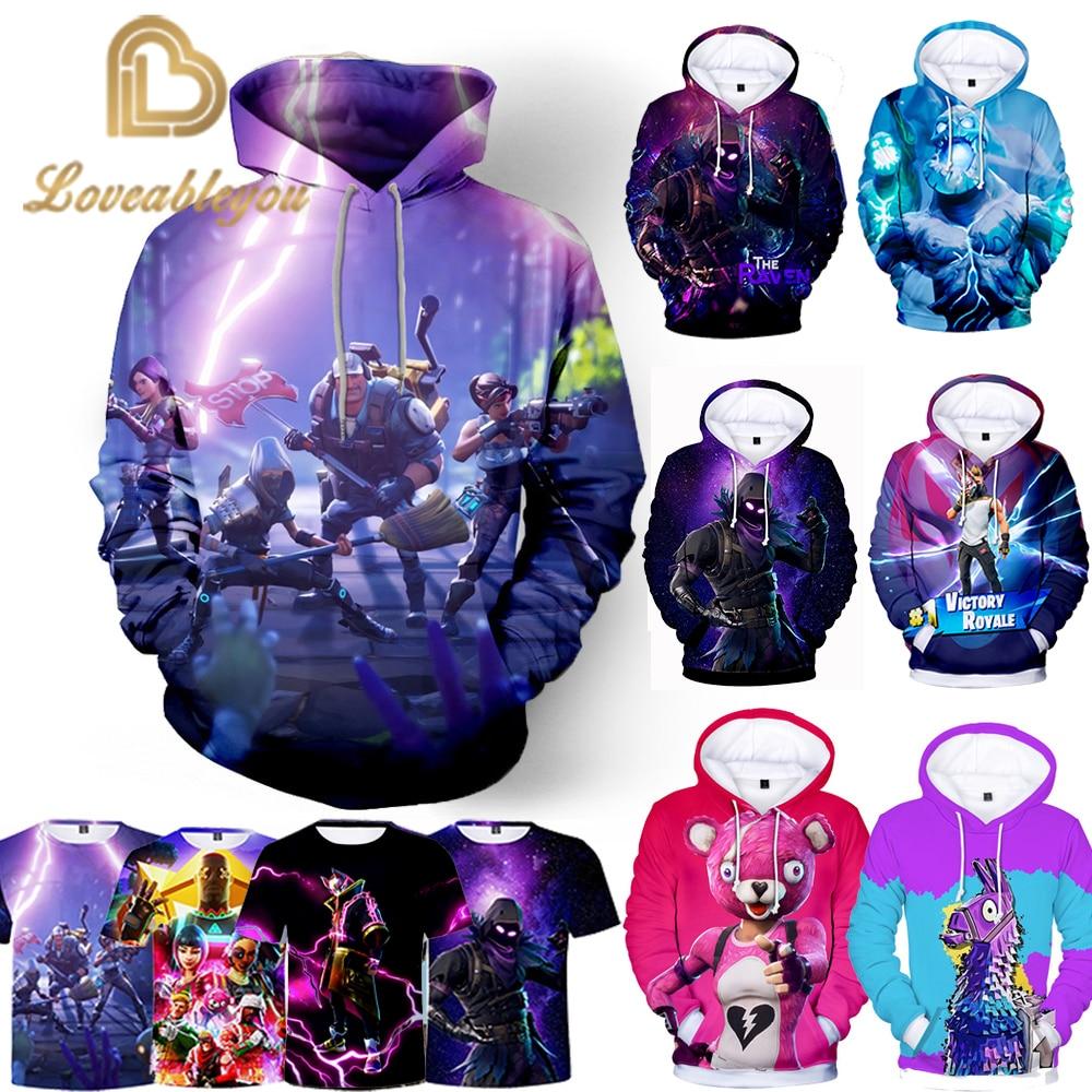 New Battle Game 3D Hoodie Children Hoodies Streetwear Hip Hop Warm Sweatshirts Hoodie Harajuku Victory Royal