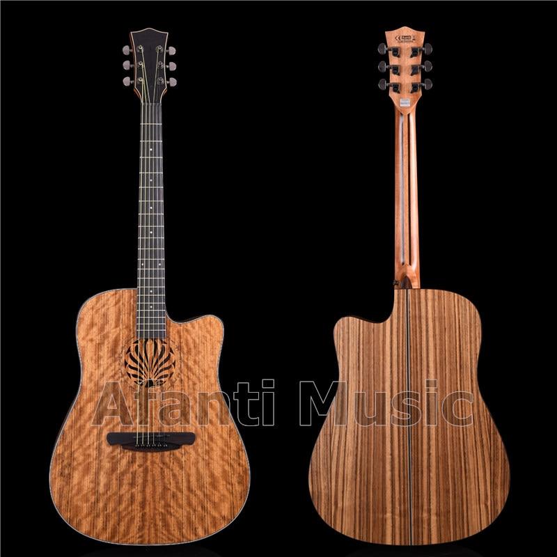 Afanti musique 41 pouces tout noyer guitare guitare acoustique (AFS-2104-S)