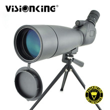 Visionking 20-60x80 водонепроницаемый Зрительная труба BAK4 широкоугольный большой обзор наблюдение за птицами Охота Гольф автогид для телескопа со штативом