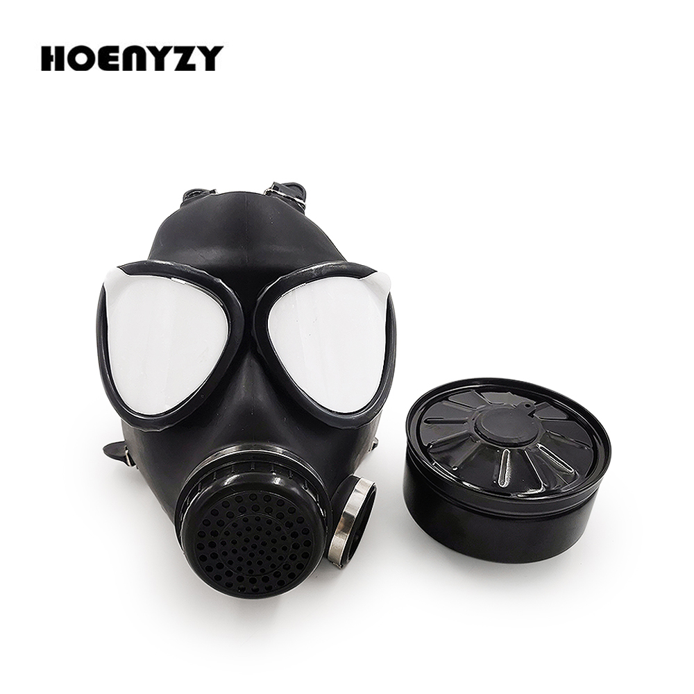 High Quality 87 Type Gas Mask Chemical Respiratory Full Facs Mask Natural Rubber Military Filter Protective mask(China)