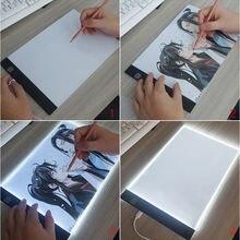 Панель диммируемая светодиодная a4 для копирования рисунков
