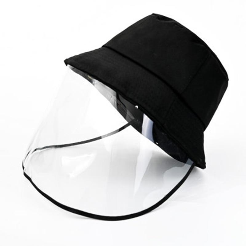 Protective Eye Mask Spitting Splash Transmission Masque Hat Protection Big Eaves Face Mask Mascarillas De Proteccion
