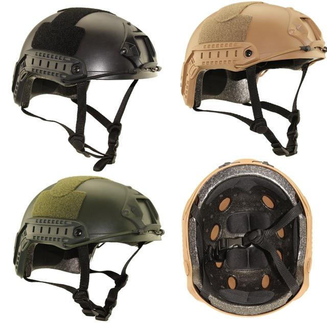 Tactical polowanie ochrona zewnętrzna biegów USMC MH typ szybki kask proste kaski wojskowe rower jazda na rowerze wojskowy Airsoft strzelać kask
