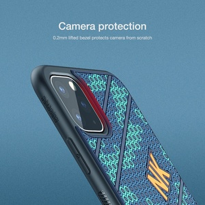 Image 4 - Funda trasera NILLKIN de silicona para iPhone 11, carcasa para iPhone 11 Pro, funda suave a prueba de golpes para iPhone 11 Pro Max, funda 6,5/6,1/5,8