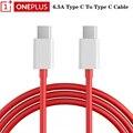 Oneplus 8T Nord Warp Schnell Ladegerät Kabel 6,5 EINE PD Schnelle USB Typ-C 3,1 Zu USB C daten Kabel 35cm 100cm 150cm Für Ein Plus 8 7T Pro