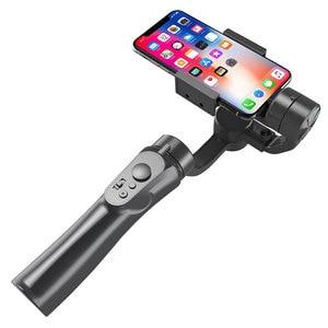 Image 2 - 3軸ハンドヘルドジンバルスマートフォンスタビライザーusb充電ビデオ録画のサポートユニバーサル調節可能な方向vlogライブ