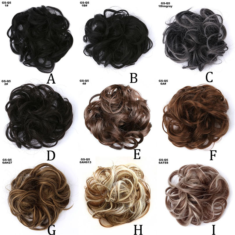 New Fashion Easy-To-Wear Stylish Hair Circle Women Girls Hair Circle Elastics Scrunchie hair accessories 3S02 (12)