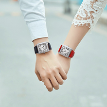 Fashion Causal Watch Couple GUANQIN GS19118 Couple Watches P