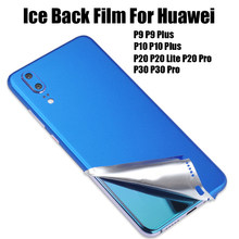Ice Surface Film For Huawei P9 P10 Plus P20 P30 Pro Lite Nova 3e 4e Thin Screen Protector Stickers Paster Rear Decorative Film(China)