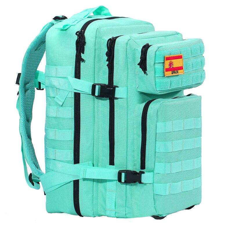 Новинка 2020, тактический рюкзак для мужчин, для спорта на открытом воздухе, 45л, большой объем, военный камуфляж, для путешествий, водонепрониц...