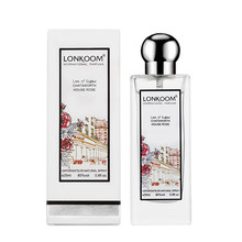 Comute diário chatsworth casa rosa mulher perfume salão de beleza perfume folha verde floral perfume 25ml
