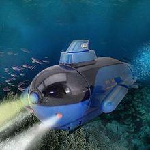 4 канала радиоуправляемая подводная лодка мини модель мощная