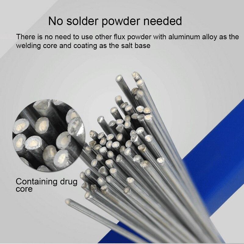 50 см Низкий Температура легко Алюминий со сварочными электродами порошковая проволока 1,6/2 мм стержень припоя для пайки Алюминий нет необхо...