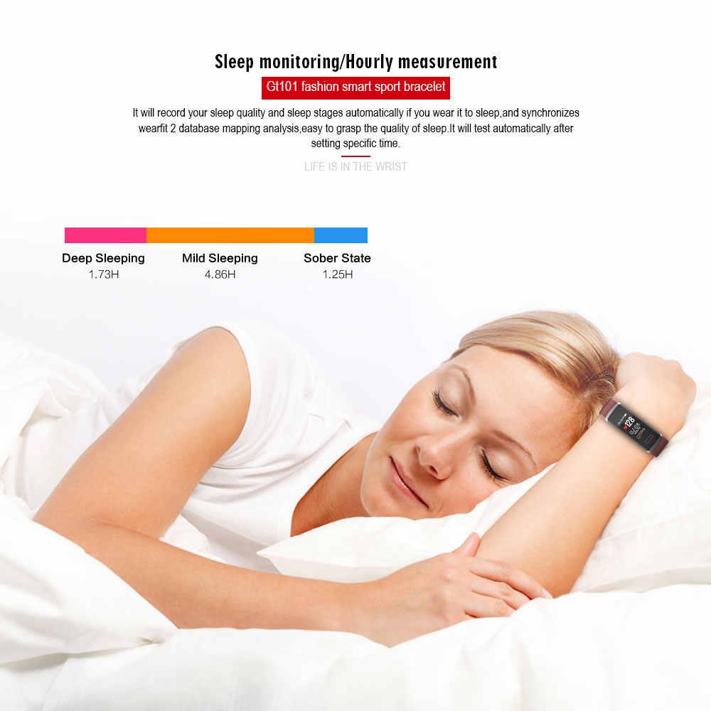 ABDO farbe bildschirm männer und frauen smart armband stunden herz rate monitor fitness tracker Bluetooth sport wasserdicht smart watch