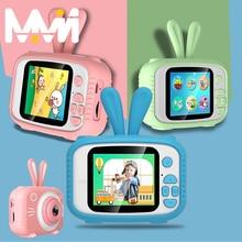 Kinder Kamera 1080P Kamera Bunny kinder Kamera HD Mini Wiederaufladbare Digital Kinder Kamera Kid Kamera Spielzeug Geschenk für mädchen jungen