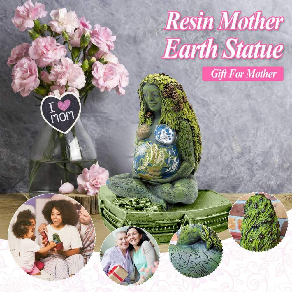 Mother Earth Art Goddess Statue Ornaments Gifts Home Garden Outdoor Decoration