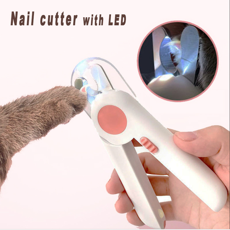 Professionals Pet Dog Cat Nail Clippert nail trimmer with grinder cat and dog nail clipper with LED nail cutter for cat trimmer|Dog Nail Clippers|   - AliExpress