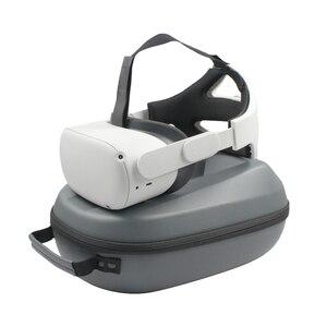 Image 1 - Protable Túi Bảo Quản VR Phụ Kiện Cho Oculus Nhiệm Vụ 2 VR Tai Nghe Du Lịch Xách EVA Túi Cất Giữ Oculus Quest2 túi Xách Tay