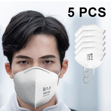 Fast Shipping 20pcs N95 Non-disposable FFP2 Masks KN95  Protective Particulate Respirator 95% Filtration Rate PM2.5 Dust