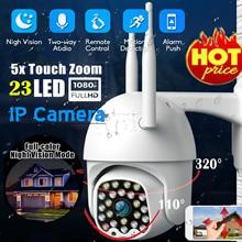 Sıcak Satış 1080P HD IP güvenlik kamerası Su Geçirmez Açık WiFi PTZ Güvenlik Kablosuz IR Kamera