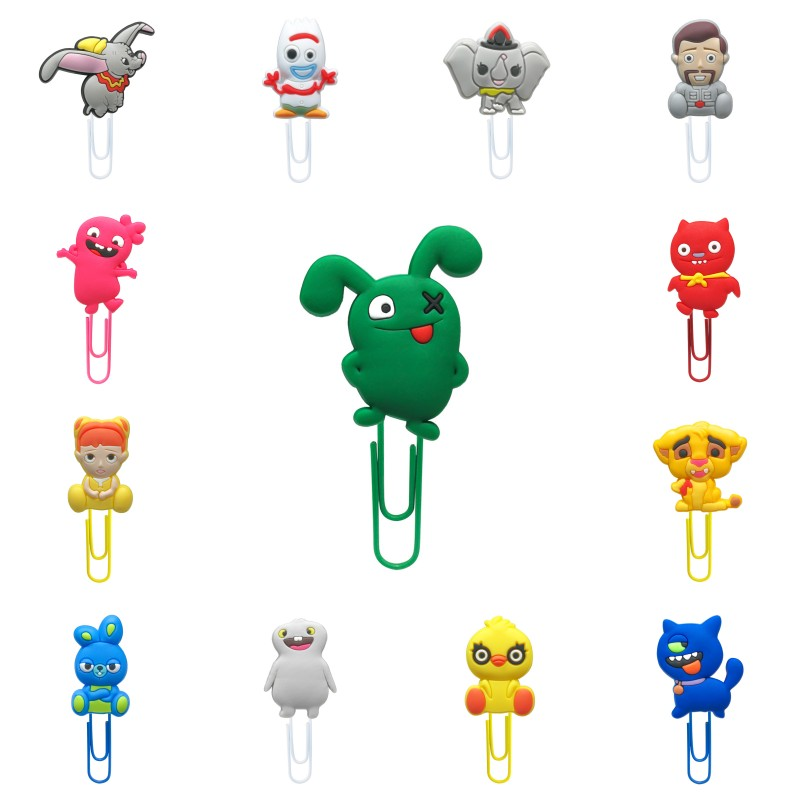 1pcs Hot Cartoon Bookmarks For Book Book Mark Paper Clips Page Holder For School Teacher Office Supply Kids Birthday Gift