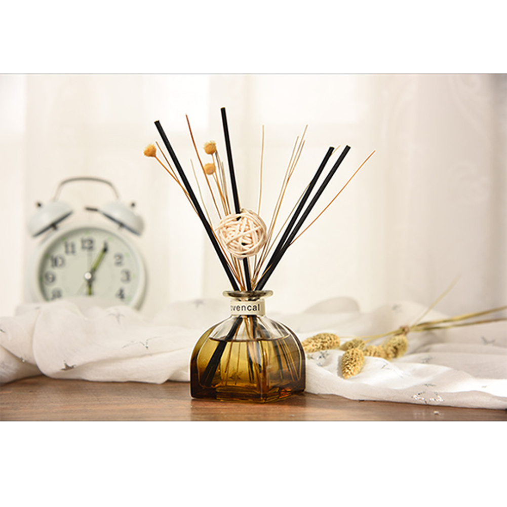Aroma Diffuser Set Rattan Sticks Portable Essential Oil Office Car Decoration Fragrance Scent Home Aromatherapy No Fire