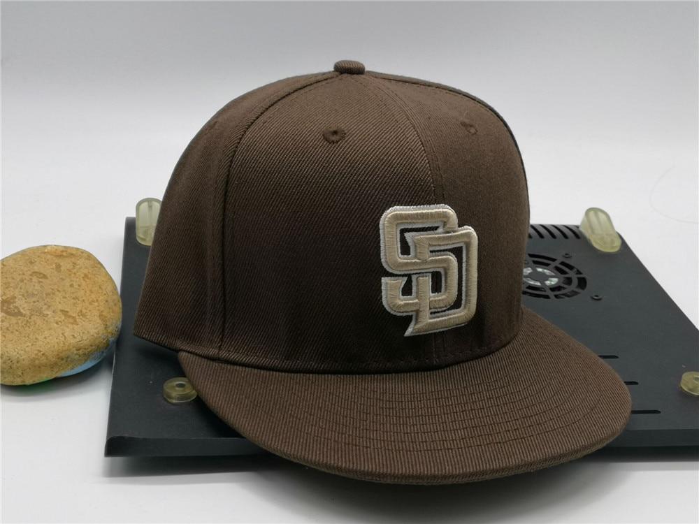 Gorra Baseball-Caps Sd-Fitted-Cap Peak Cool Women Full-Closed Letter San Adult Hip-Hop