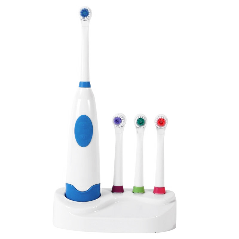 Top Deals Adults Electric Toothbrush Replacement Teeth Whitening Children Toothbrush Battery Powered Pro Dental Equipment image
