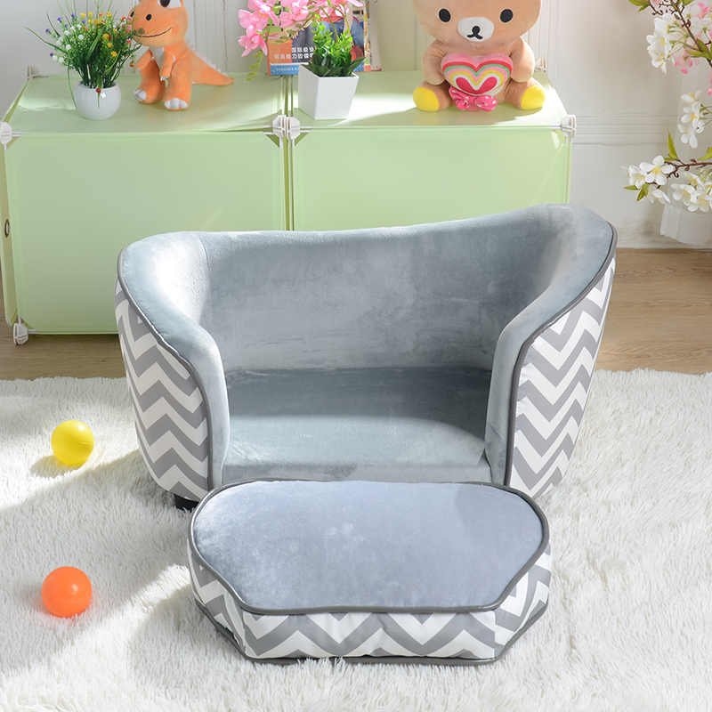 Children's Sofa Cute Baby's Sofa Chair Cartoon Cloth Art Mini Pet Sofa Baby Cloth Art Circle Chair 4