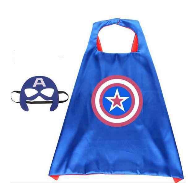 マーベルアベンジャーズおもちゃコスプレマント岬ショールフラッシュキャプテン · アメリカの Thor ハルク玩具 + アイマスク