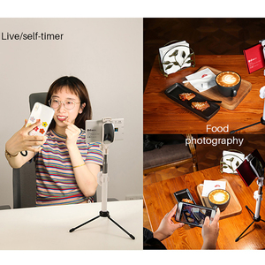 Image 3 - YB K10 LED Video ışık 12W cep boyutlu kamera LED Video ışığı 180 boncuk fotoğraf lamba ile montaj sony Nikon DSLR