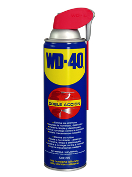 WD40 Multi-use Stimulating Lubricant 500 Ml Double Action WD-40