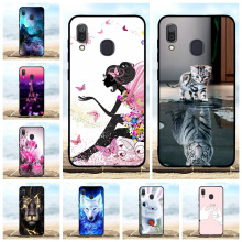 For Samsung Galaxy A20 A30 Cover TPU SM-A205F Case Cute Patterned SM-A305F Capa