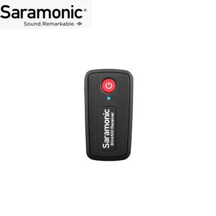 מקלט/משדר עבור Saramonic בלינק 500 סדרת B1 B2 B5 B6 כפול ערוץ אלחוטי מיקרופון מערכת VS RODE אלחוטי ללכת