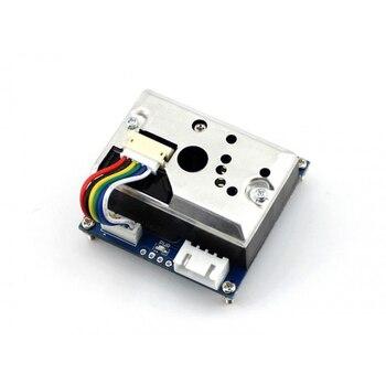 Модуль-датчик пыли, простой воздушный монитор с острым gp2y10au0f, бортовое Обнаружение мелкозернистой частиц, большой, чем 0.8um в диаметре