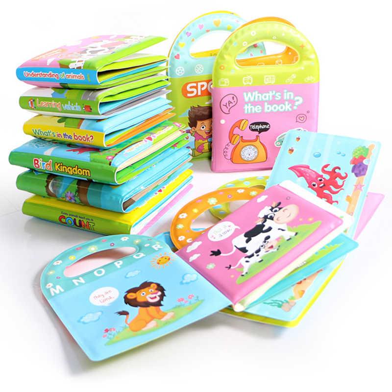 Детские книжные книжки из мягкой ткани для малышей, новорожденных, для раннего обучения, развиваются познавательные чтения, английские книги, игрушки для детей, активная Тихая книга, 4л