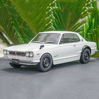 1:18 scale Nissan GTR GT R alloy car model souvenir diecast metal vehicle toy collection F kids children gifts traffic tools