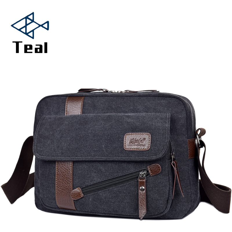 2019 New Men Bag Briefcase Canvas Business Bags Luxury High Quality Laptop Briefcase File Package Travel Leisure Bags