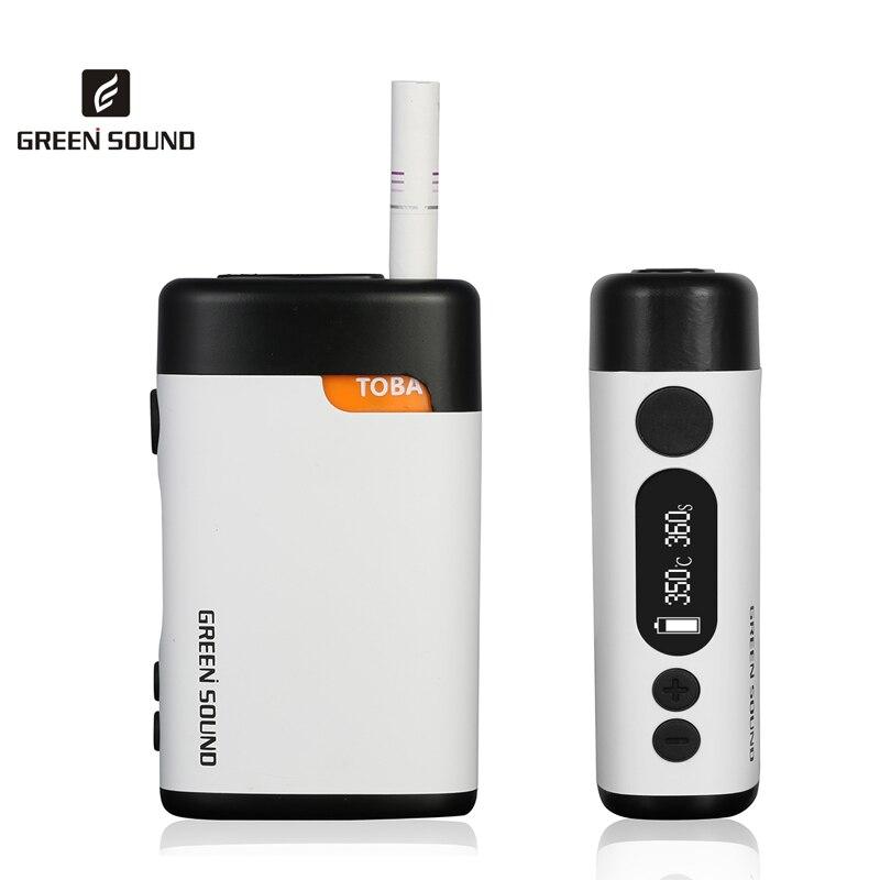 TOBA 2.0 Kit de Vape de chauffage 1500mAh Cigarette électronique pour chauffer la cartouche de tabac compatibilité avec le bâton IQOS IQOC