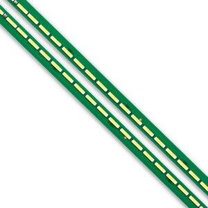 Image 4 - Новый комплект 2 шт. 60 светодиодов 602 мм Светодиодная лента для подсветки LG 55UF6450 55UH6150 55UF6430 6916L2318A 6916L2319A 6922L 0159A LC550EGE