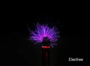 Image 5 - Funken lücke tesla draht falle stück diy technologie zu produzieren drahtlose übertragung licht arc arc spray arc