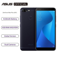 Asus Zenfone Max Plus M1 ZB570TL Global Version Smartphone 4GB RAM 64GB ROM 5.7 Octa core 4130mAh OTA update