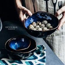 European Porcelain Deep Bowl Irregular Bowl Creative Tableware Irregular Bowl Dishes Set Noodle Bowl Restaurant Noodle Bowl