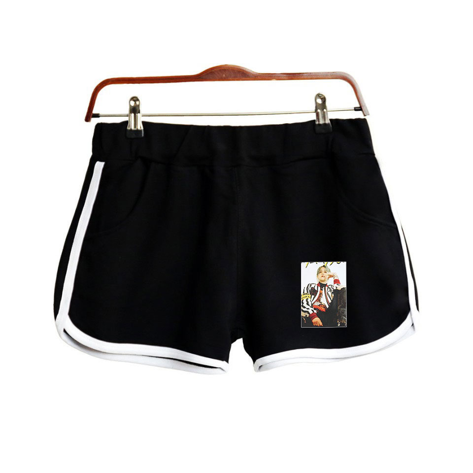 Super M 2D Fashion Printed Shorts For Women Streetwear Shorts 2019 New Arrival Hot Sale Girls Sexy Summer Wear Shorts